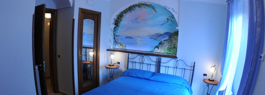 Miramare bed and breakfast ad Agerola Costa d'Amalfi